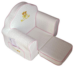 Luxury House Playroom Children Furniture with Ottoman/Kids Fabric Sofa (SXBB-223) pictures & photos