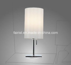 Modern Table Lamp with Cloth Shade