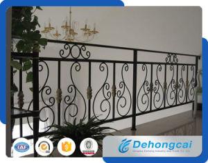 Security PVC Coated Iron Balcony Fence / Economic Iron Balcony Fence pictures & photos