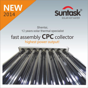 Suntask New Fast Assembly CPC Solar Collector with Highest Power Output 2943W pictures & photos