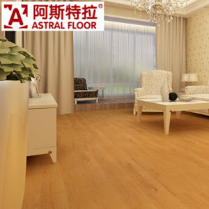 12mm Popular Teak Color HDF Material Laminate Flooring pictures & photos