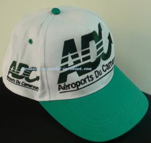White&Green Baseball Caps with Embroidery Logo (V12003) pictures & photos