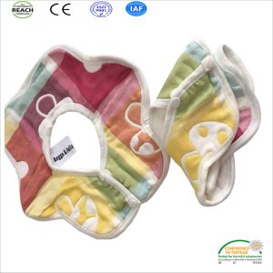 100% Cotton Colorful Baby Bib pictures & photos