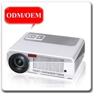1080P Full HD Red-Blue 3D Android WiFi TV Home Theater Office Classroom LED Projector pictures & photos