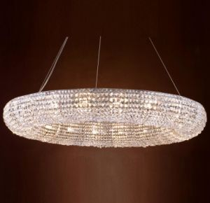 Round Crystal Chandelier (WHG-8180) pictures & photos