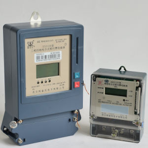 IC Card Prepaid Electric Meter Measuring Instrument Kwh Meter Prepayment Meter pictures & photos