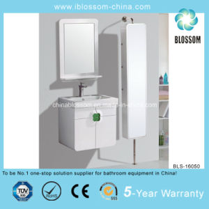 Wall-Mounted and Long Side Cabinet Bathroom Cabinet (BLS-16050) pictures & photos