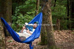 Lightweight Portable Nylon Parachute Hammock for Backpacking pictures & photos