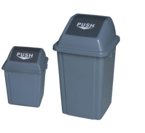 High Quality Outdoor Plastic Trash Bin pictures & photos