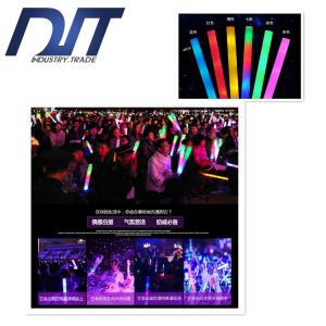 Custom Logo Large Sponge Glow Concert Light Sticks for Props pictures & photos