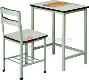 Single Student Desk and Chair for Middle High School pictures & photos