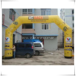 Top Quality Full Paintings Inflatable Arch Door for Business