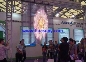 P10mm Full Color Hight Transparent Video Screen pictures & photos