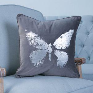 Foil/Gold&Silver Printed Decorative Cushion/Pillow (MX-54A/B/C/E/F) pictures & photos