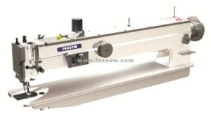 Long Arm Walking Foot Heavy Duty Zigzag Sewing Machine pictures & photos