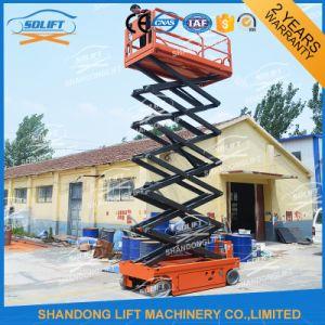 Ce Hydraulic Mobile Man Scissor Lift Platform pictures & photos
