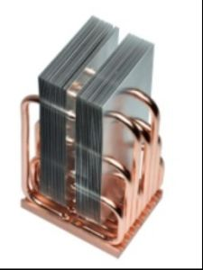 Copper Heatpipe Aluminum Fin Heatsink Stage LED Cooler pictures & photos