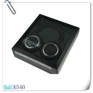 Black K540 Over Ear Folding Design Headphone