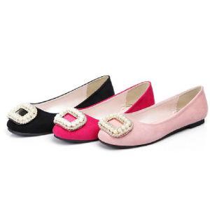 Fashion Pearls Flat Heel Ladies Ballerina Shoes (A167101890)