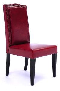 Modern Bonded Leather Restaurant Furniture Restaurant Chair (GK713)