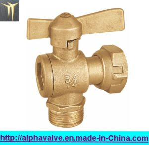 Brass Water Meter Lead Angle Valve (a. 0122)
