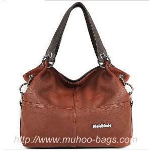 Fashion Leather Ladies Handbag, Fashion Bags (MH-6049) pictures & photos