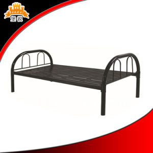 Made in China Steel Single Bed pictures & photos