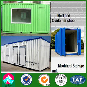 20ft Modified Shipping Container House with Middle Big Windows (XGZ-CH015) pictures & photos