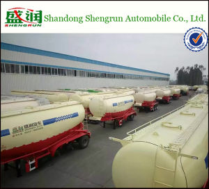 New High Quality 3 Axle 50m3 Bulk Cement Tank Semi Trailer for Hot Sale