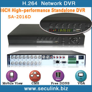 16CH with HDMI H. 264 Security CCTV Standalone DVRs