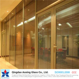Clear Tempered/Toughened Glass for Building/Window/Door with Hole pictures & photos
