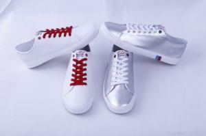 Vulcanized Shoes Rubber Outsole Fashion Men′s Shoes pictures & photos