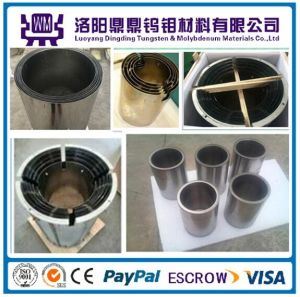 High Quality Customized Molybdenum Barrel, Molybdenum Heat Resistant Shields for Sapphire Growth Furnace for Melting Platinum pictures & photos
