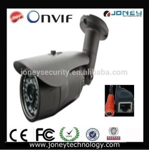 "1/4"" Ov CMOS Sensor Megapixel IP66 Waterproof Bullet IP Camera with Board Lens pictures & photos"