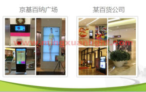 High Quality Ad Player Wall Mounted Digital Signage LCD Display pictures & photos