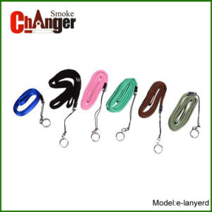 Most Portable and Colorful EGO Leather Lanyard for Vaping E-Cigarette