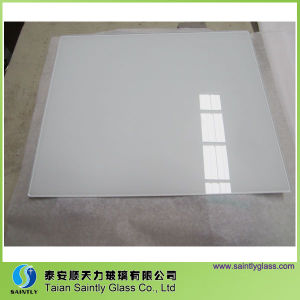 6mm Low Iron Tempered Printing Glass for Range Hood pictures & photos