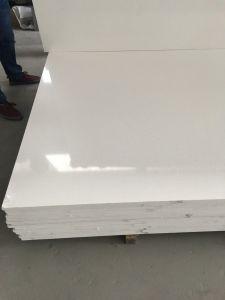 Pure White Fine Quality Quartz Stone pictures & photos