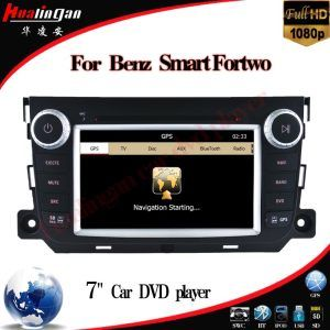 Windows Ce Car DVD Player for Benz Smart Fortwo GPS DVD Navigation Hualingan pictures & photos