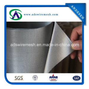 Dutch Weave 24X110 Ultra Fine Woven Stainless Steel Wire Mesh pictures & photos