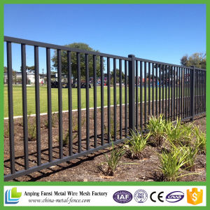 Hot Sale New Products Ornamental Iron Fence Panels with Post for USA pictures & photos