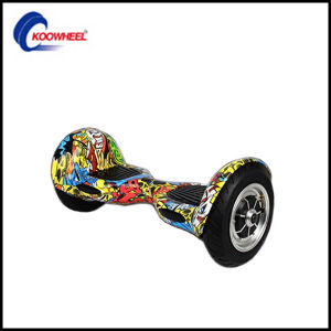 10 Inch Smart Self Balance Scooter Street Dance Skateboard Electric Scooter Smart Boards Hoverboard with Manual+Charger+Bag pictures & photos
