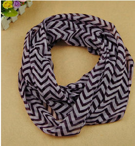 Polyester Voile/ Printed Voile /Hot Selling Fashion/ Scarf