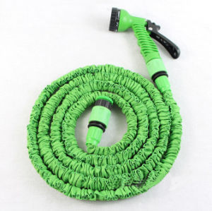 Top Quality Magic Pocket Hose, 25/50/75/100ft TPE Expandable Flexible Garden Wash Car X Hose Pipe with Spray Nozzle 7 Function Gun pictures & photos