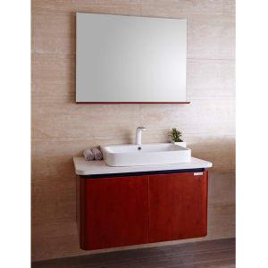 China 2014 oppein alder solid wood bathroom vanities