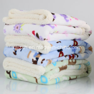 Thick Cashmere Baby Blankets Fannel Blankets pictures & photos