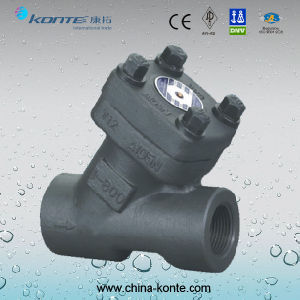 Forged Y Type Check Valve with A105 Material pictures & photos