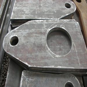 Laser Cutting Steel Plate Use for Machine Parts pictures & photos