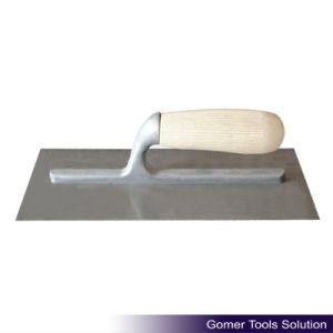 Carbon Steel Wood Handle Plastering Trowel (T08175)