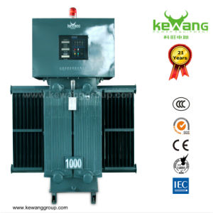 Oil Type Contactless Carbon Brush AC Voltage Stabilizer for Industrial pictures & photos